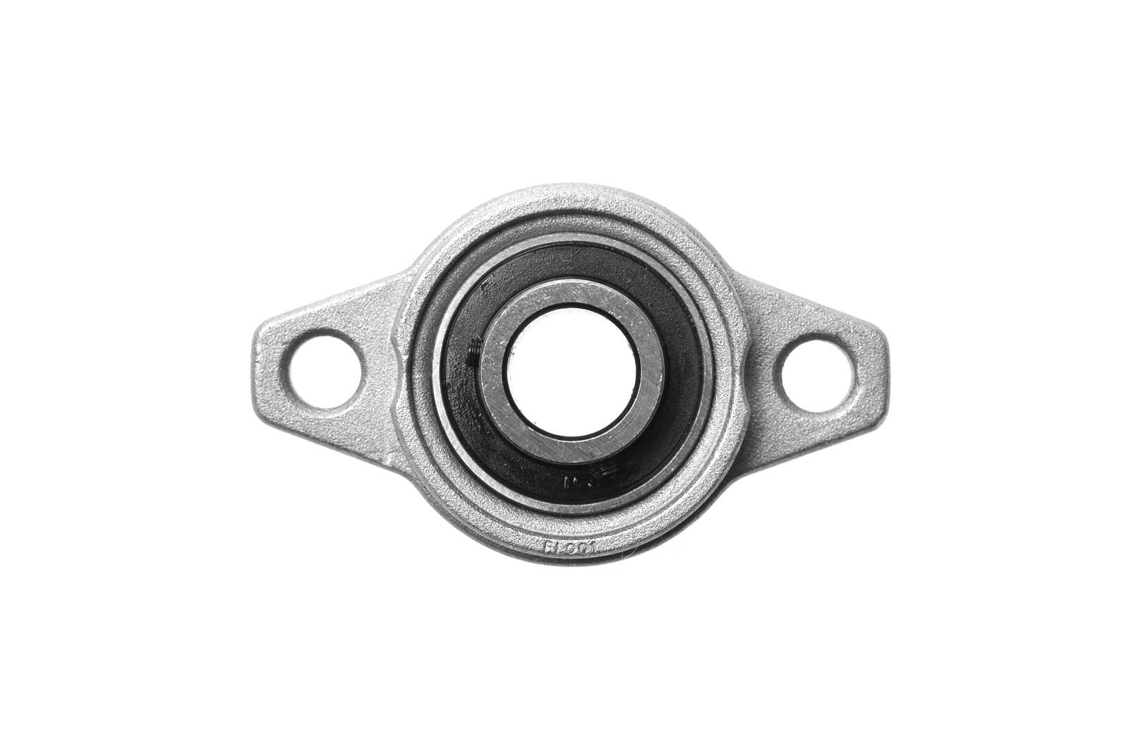 Miniatur Flanschlager für Ø 12mm WelleKugellager Pendellager Gehäuselager