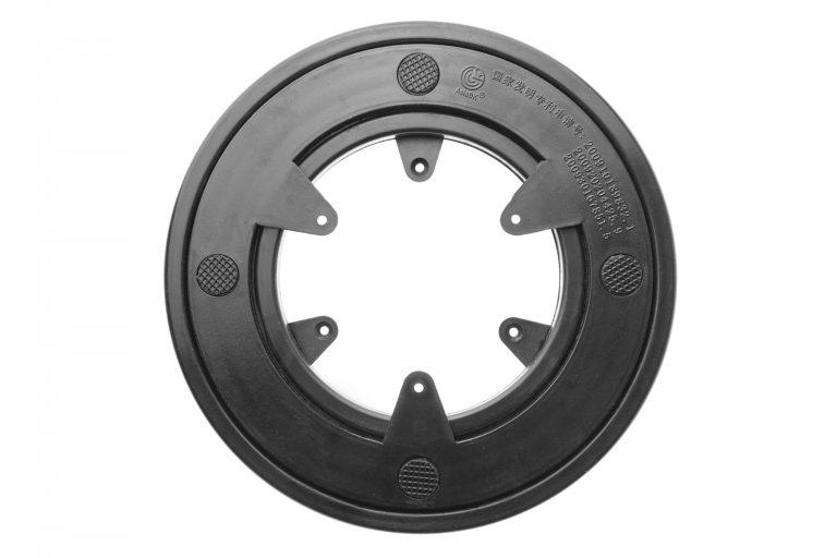 Kunststoff Drehkranz Ø 152 mm 15 cm Gummi