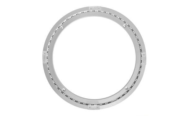 Aluminium Drehkranz 304 mm 30 cm 120 kg leise