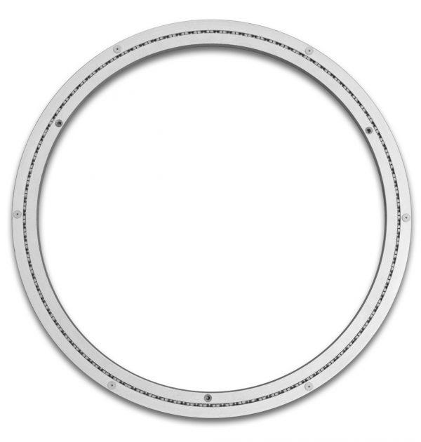 Aluminium Drehkranz 506 mm 50 cm 180 kg leise