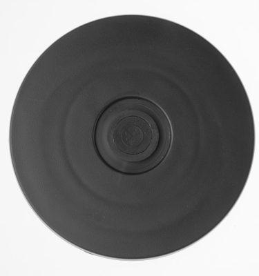 Kunststoff Drehteller Ø 100mm 10cm schwarz