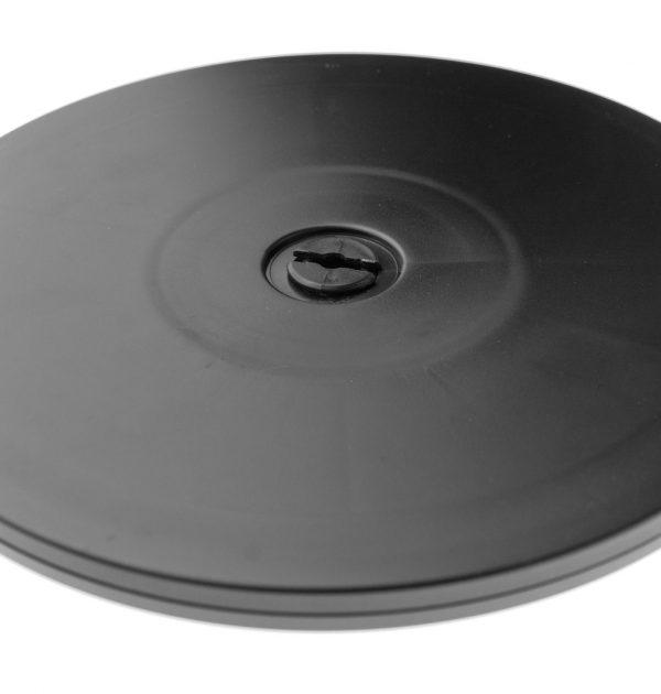 Kunststoff Drehteller Ø 203mm 20cm schwarz