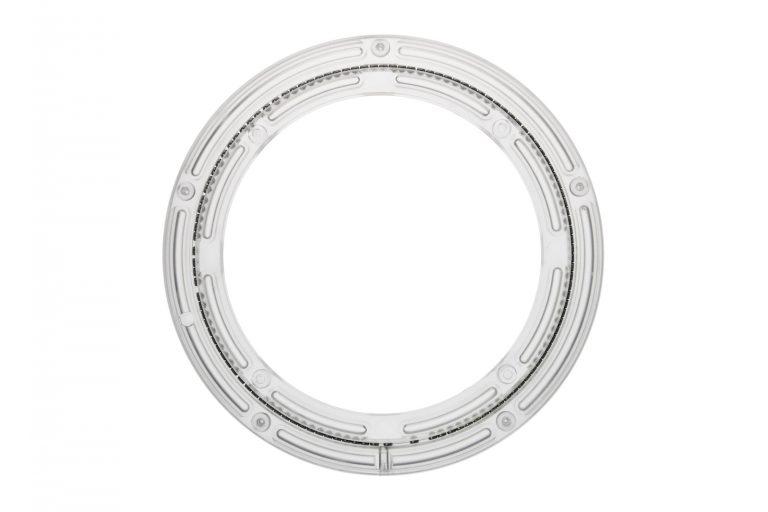 Kunststoff Drehkranz Ø 228 mm 23 cm transparent