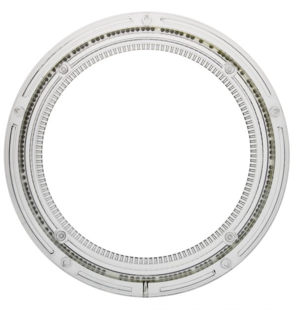 Kunststoff Drehkranz Ø 276 mm 28 cm transparent Zahnrad