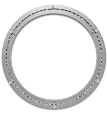 Aluminium Drehkranz 401 mm 40 cm 160 kg leise