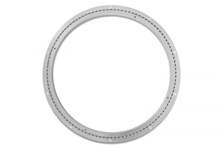 Aluminium Drehkranz 600 mm 60 cm 220 kg leise