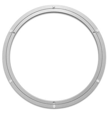 Aluminium Drehkranz 391 mm 39 cm