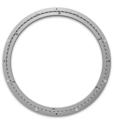 Aluminium Drehkranz 442 mm 44 cm 180 kg leise