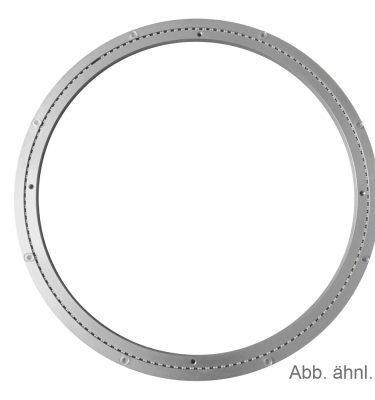 Aluminium Drehkranz 798 mm 80 cm 250 kg leise